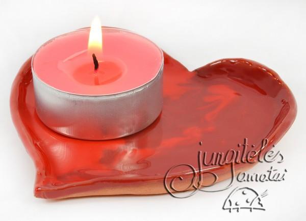 """Žvakidė """"Širdele mano"""""""